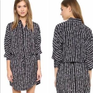 Club Monaco Lanita Shirt Silk Dress